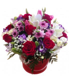 VIP פרחים בקופסא