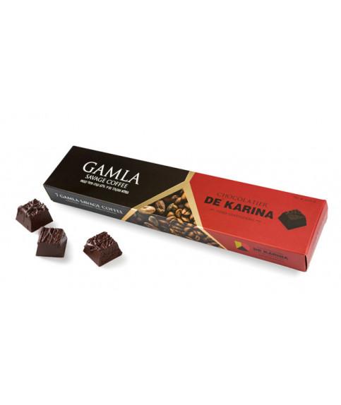שוקולד גמלא מריר קפה ופולי קקאו