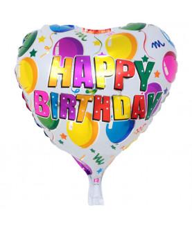 Balloon Heart Happy Birthday