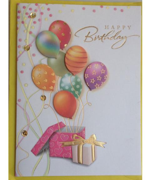 Wishing Card Happy Birthday
