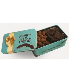 Набор Шоколада с Орехами Blue Box
