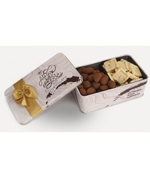 מארז שוקולד דואט לבן סט